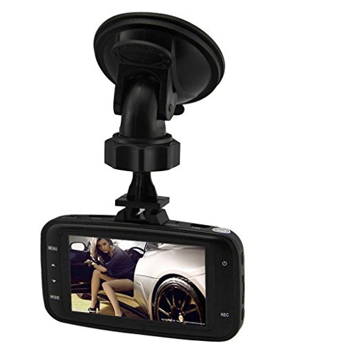 "RivenAn GS8000L Mini Dashboard Dash Cam - HD 1080P 2.7"" LCD Car DVR Miniature Camera Video Recorder - Wide Angle Zoom Lens LED Night Vision, Motion Detection with G-Sensor"
