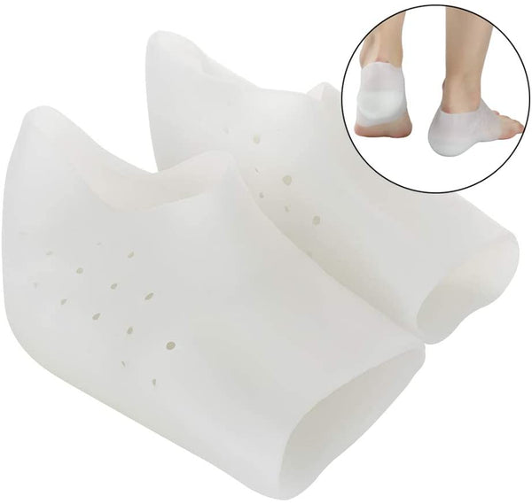 MERICP Height Increased Insole - Breathable Silicone Invisible Heel Lift Pad For Plantar Fasciitis, Heel Support And Heel Protector