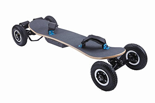 Ninestep 25 mph 2000w off road electric skateboard long rang 35km with LG 11Ah wireless remote longboards