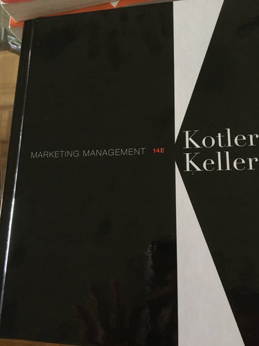 Marketing Mangement - Kotler Keller (14E)