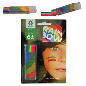 Rainbow Face Paint LGBT Gay Pride Flag Colours