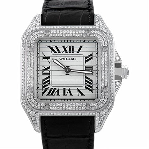 Cartier mechanical-hand-wind mens Watch 3229A (Certified Pre-owned)