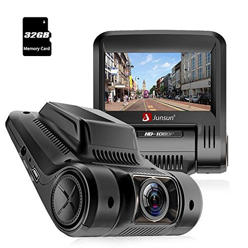Car Dash Cam 2.45 inch LCD Full HD 1080P 170 Degree Wide Angle Dashboard Camera Recorder with WIFI Video Sensor, G-Sensor, WDR, Loop Recording