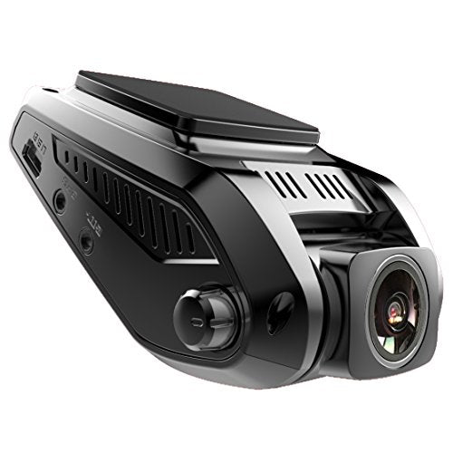 "Pruveeo V7 2.4"" LCD Full HD 1080P Dash Cam Front and Rear Dual Camera, 170+90 Degrees Wide Angle Lens, Dash Cameras for Cars with Night Vision, Dashboard Camera Car Driving Recorder DVR"
