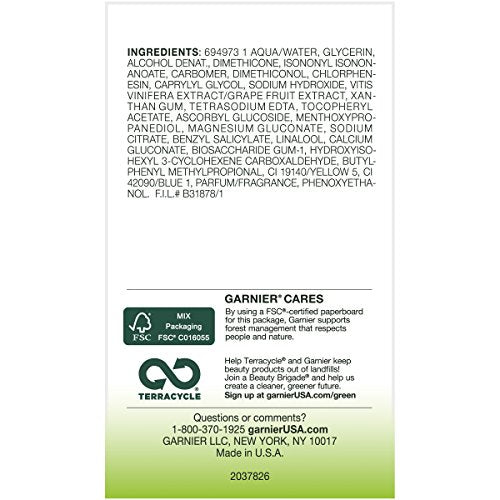 Garnier Moisture Rescue Refreshing Gel-Cream for Normal and Combination Skin. 24H Hydration, 100 Oil Free, 50ml