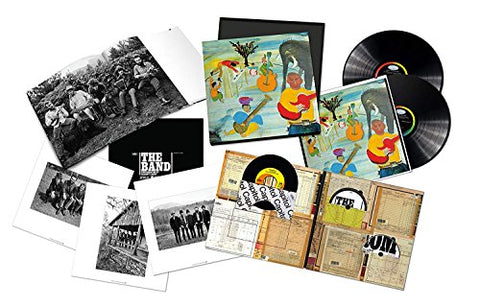 "Music from Big Pink (50th Anniversary Super Deluxe Edition CD + 2LP Vinyl +Blu-ray Audio + 7"" Vinyl + book)"