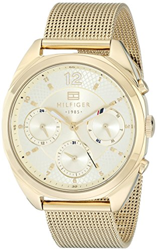 Tommy Hilfiger Women's 1781488 Analog Gold-Tone Watch