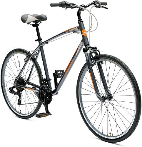Critical Cycles Men's Barron Hybrid 21 Speed Bike