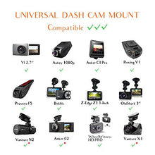 Load image into Gallery viewer, Dash Cam Mirror Mount Kit for Rexing V1,Falcon F170,Z-Edge,Old Shark,YI,Kdlinks X1,VANTRUE and Most Dash Camera and Car Camera