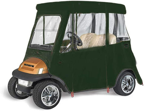 GreenLine Club Car Precedent 2 Passenger Drivable Golf Cart Enclosure