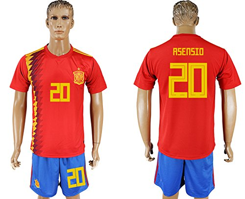 2018 World Cup Spain Men's Team Full Jersey