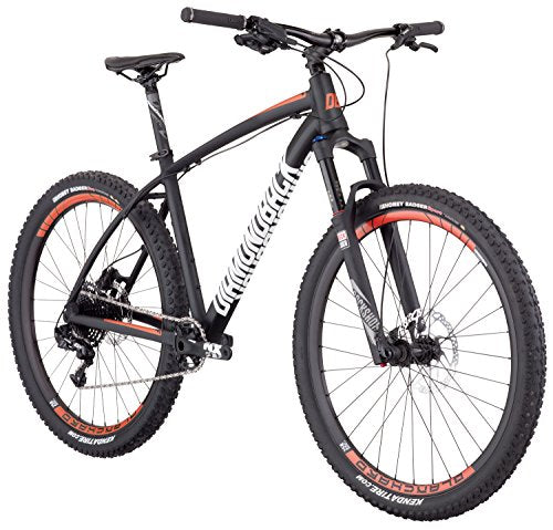 "Diamondback Bicycles Overdrive Pro Hardtail 18"" Frame Mountain Bike, Medium/27.5"", Black"