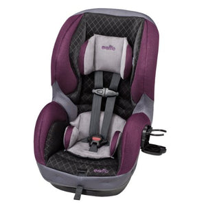 Evenflo SureRide 65 DLX Convertible Car Seat Sugar Plum, Grey