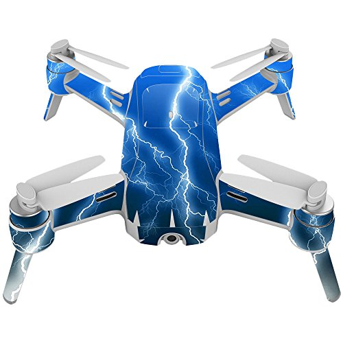 Skin For Yuneec Breeze 4K Drone – Lightning Storm | MightySkins Protective, Durable, and Unique Vinyl Decal wrap cover | Easy To Apply, Remove, and Change Styles | Made in the USA