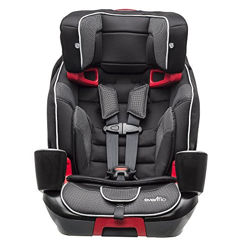 Evenflo Evolve 3-in-1 Combination Seat, Mercury, Black, One Size