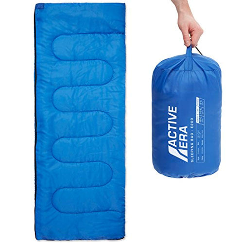 Premium Lightweight Warm Weather 200GSM Sleeping Bag (-3°C)