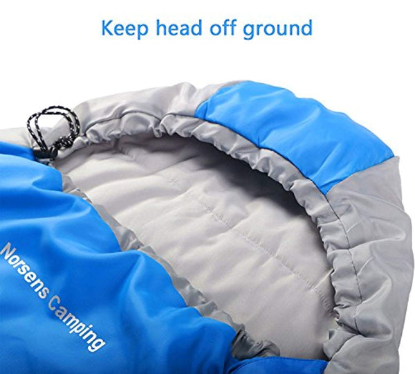 Norsens Lightweight Sleeping Bag - Ultralight Compact Portable Waterproof Sleeping Bags for Adults with Compression Sack - Great for Backpacking Camping Hiking & Outdoor Activities, XL