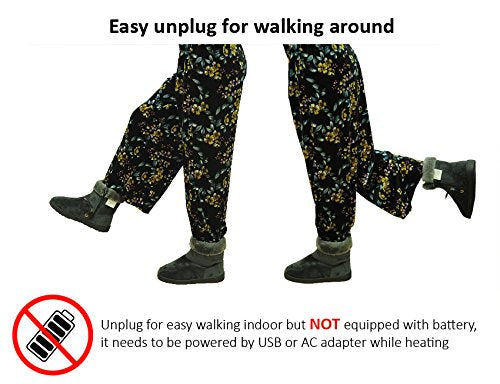 Far Infrared Carbon Fiber Heated Foot Warmer/Boots / Slippers