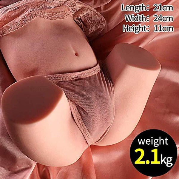 3D Realistic Life for Men Male Adult Toys for Man Full-Body Female Silicone Torso Funny Adult Toy Lifelike