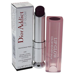 Christian Dior Addict Lip Glow Color Awakening Balm, Berry, 0.12 Ounce