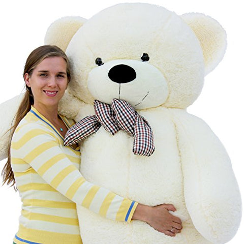 "Joyfay Giant Teddy Bear 78""(6.5 Feet) White"