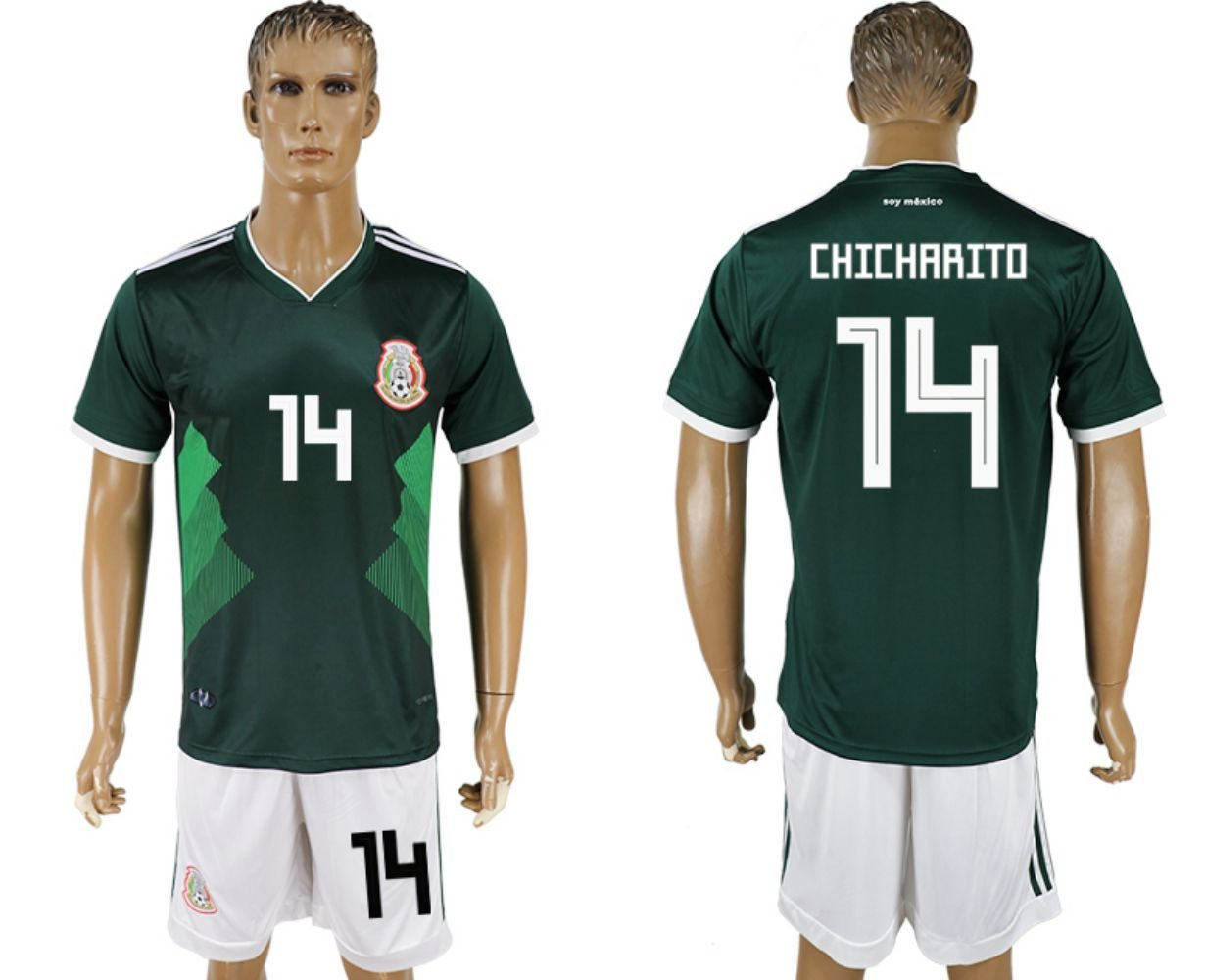 2018 World Cup Mexico Men's Team Full Jersey