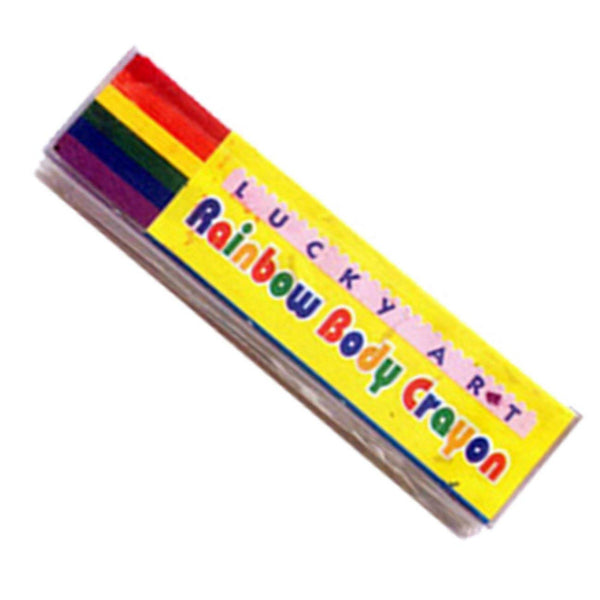 THEE Glitter Rainbow Pencils for Face Body Painting Festival