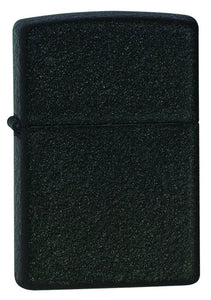 Zippo Black Crackle Lighter