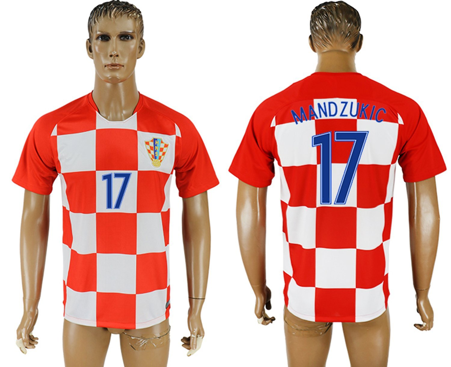 2018 World Cup Croatica Men's Team Full Jersey