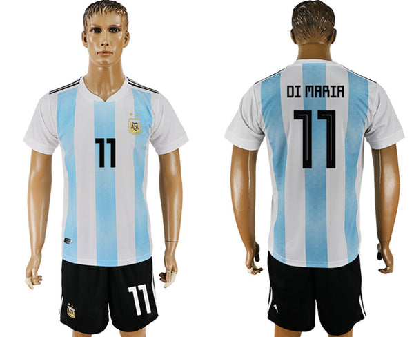 2018 World Cup Argentina Men's Team Full Jersey