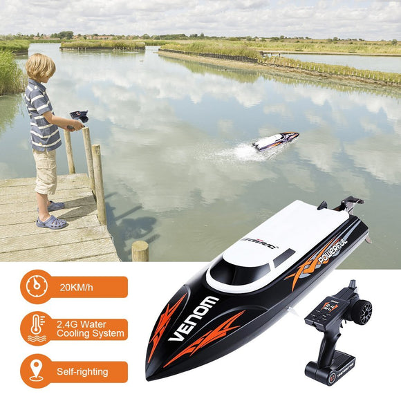 GBlife 2.4GHz RC Boat High Speed Racing Boat Electric Motor Ship RC Remote Control Wireless Toy for Adults & Kids
