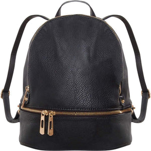 Humble Chic Vegan Leather Backpack Purse Small Fashion Travel School Bag Bookbag