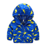 Cute Dinosaur Spring Children Coat Autumn Kids Jacket Boys Outerwear Coats Active Boy Windbreaker Baby Clothes Clothing