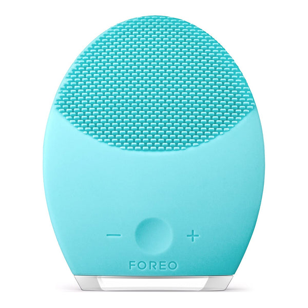 FOREO LUNA 2 Facial Cleansing Brush and Portable Skin Care device made with Ultra Hygienic Soft Silicone for Every Skin Type USB Rechargeable with 2-year warranty