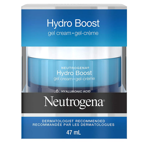 Neutrogena Hydroboost Gel Face Cream with Hydrating Hyaluronic Acid, 47 mL