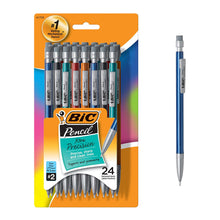 Load image into Gallery viewer, BIC Xtra-Strong Mechanical Pencil, Colorful Barrel, Thick Point (0.9mm), 48-Count