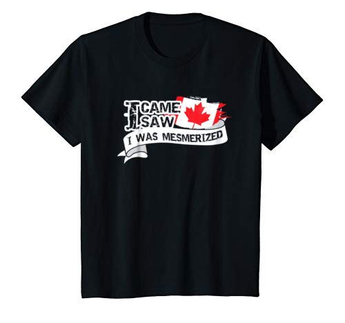 Canada T-Shirt Canadian National Flag Souvenir Gift