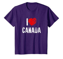 Load image into Gallery viewer, I Love Canada Country: Canadian Pride Patriotic Gift T-Shirt