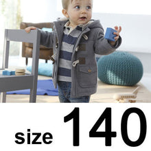 Load image into Gallery viewer, Baby Boys Jacket 2013 New Winter Clothes 2 Color Outerwear Coat Cotton Thick Kids Clothes Children Clothing With Hooded