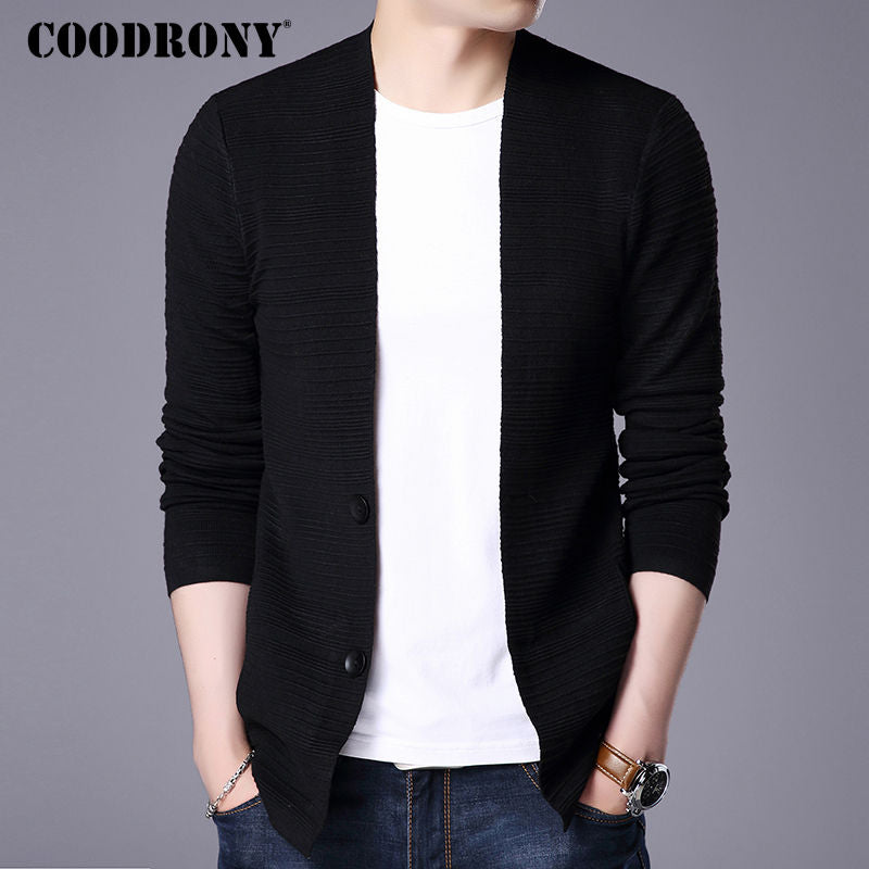 Sweater Men 2017 Autumn Winter New Arrival Cardigan Men Cashmere Wool Cardigans Mens Knitted Sweaters Pocket Coats 7403