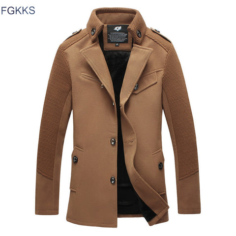 Fashion Men Overcoat Men Dust Coat Mens Overcoat Winter Men Trench Coat Long Trench Coats