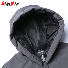Load image into Gallery viewer, Winter Jacket Mens Down Coat Male Puffer Down Feather Long Hooded Warm Coats For Men Parkas Plus Size Black Jackets