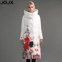 Load image into Gallery viewer, JOJX Flower Print thick Parkas women winter jacket 2017 Long Brand women coat winter Down Jacket Fashion Warm Female coats