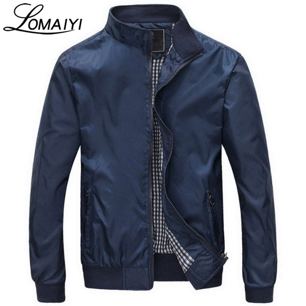 Fashion Male Jacket Coat Men 2017 Spring Business Casual Clothes Boss Thin Windbreaker