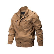 Load image into Gallery viewer, Jacket Men Winter Military Army Pilot Bomber Jacket Tactical Man Jacket Coat Jaqueta Masculina Plus Size 6XL SSFC-14