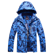Load image into Gallery viewer, MEN Camouflage Snow Jackets skiing coat Outdoor snowboarding clothing 10K waterproof & windproof winter -30 dress high quality