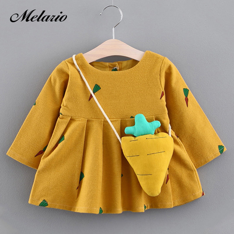 aad550a0c4fe Melario Baby Dresses 2017Brand Baby girls clothes princess girls ...
