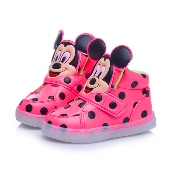 New Fashion Children Shoes With Flash Light