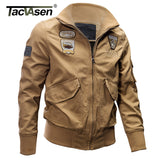 Military Jacket Men Winter Thermal Cotton Jacket Coat Army Pilot Jackets Air Force Cargo Coat TD-QZQQ-005
