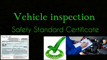 Load image into Gallery viewer, $49.99 Uber inspection - Safety Standards Certificate (booking)